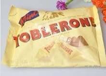 包邮 三角巧克力原味含蜂蜜及奶油杏仁 瑞士TOBLERONE 200g