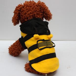 满就包!小蜜蜂变身装 宠物衣服/狗服装/小狗狗小猫衣服春秋装