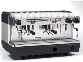 飞马FAEMA E98 正品双头手控S2半自动意式咖啡机商用