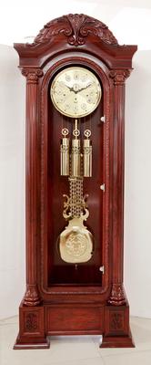 花梨木落地钟 德国机芯 立钟 手工雕刻 客厅钟 贵族钟 红木DG0062018新款