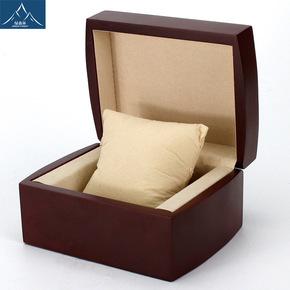 送礼实木手表盒子 高档古朴装石英表盒 首饰品翡翠手镯盒子定做