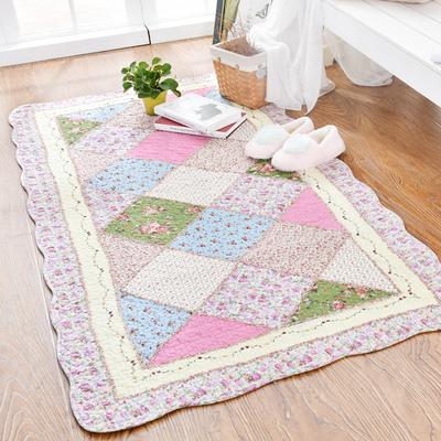 全棉纯棉地毯 宝宝爬行垫 客厅茶几卧室榻榻米床边垫 可机洗水洗