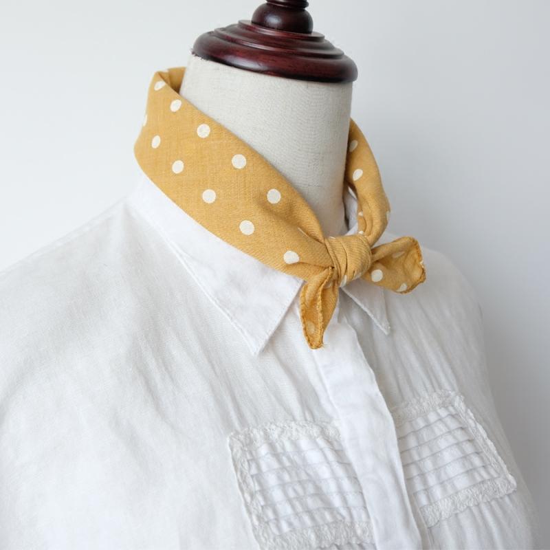 棉围巾波点