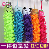 Packing cartoon towel hanging head towel towel towel towel towel towel caterpillar towel towel soft and applicable