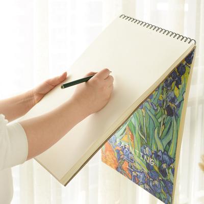 速写本画画本A4素描本手绘小清新简约写生图画本彩铅本涂鸦绘画本