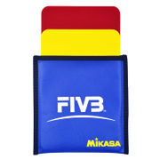 MIKASA Micasa red and yellow volleyball referee training and competition equipment FIVB VK Taiwan