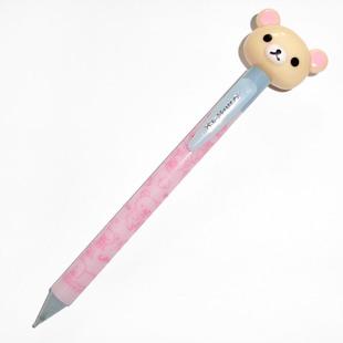 日本SanX正品Rilakkuma鬆弛熊 白熊文具鉛芯筆活動鉛筆(大頭)
