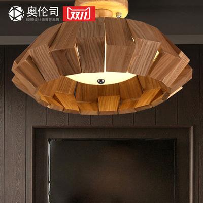 艺术书房灯 创意个性灯 实木吸顶灯客厅卧室阳台木头艺术吸顶灯具怎么样