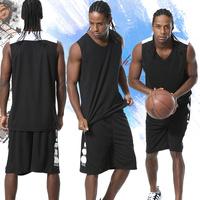 ELITE精英篮球服套装男定制 团购队服运动背心定制训练比赛篮球衣