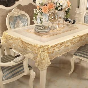 桌布长方形PVC餐桌台布塑料防水防油防烫免洗欧式田园茶几盖布