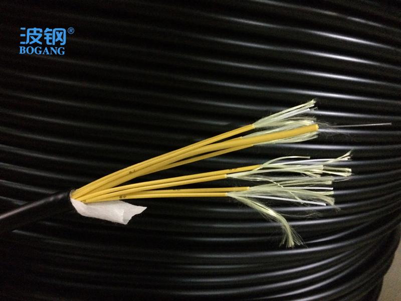 波钢促销室外单模防水尾缆铠装8芯光缆综合布线系统电信光纤跳线