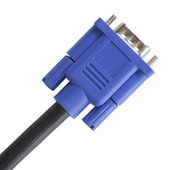 宏影15米VGA高清数据线 电脑电视连接线 视频线 投影线 3+6VGA线