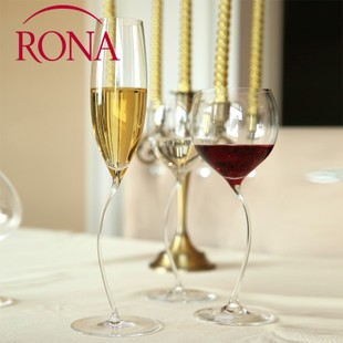 捷克进口RONA洛娜 手工杯无铅水晶玻璃红酒杯葡萄酒杯子酒具3068