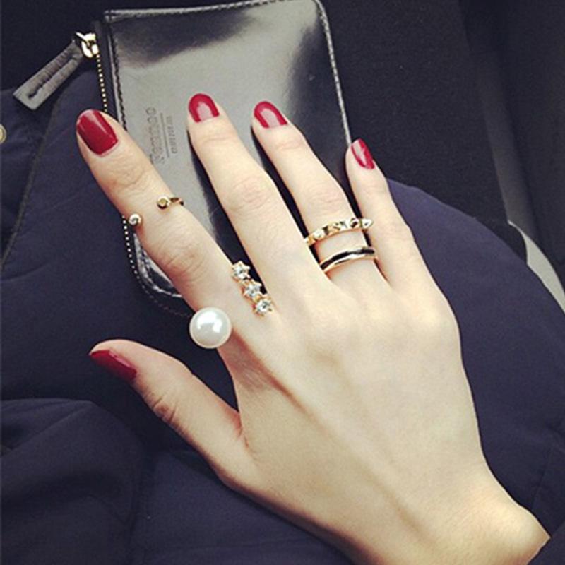 新款珍珠戒指