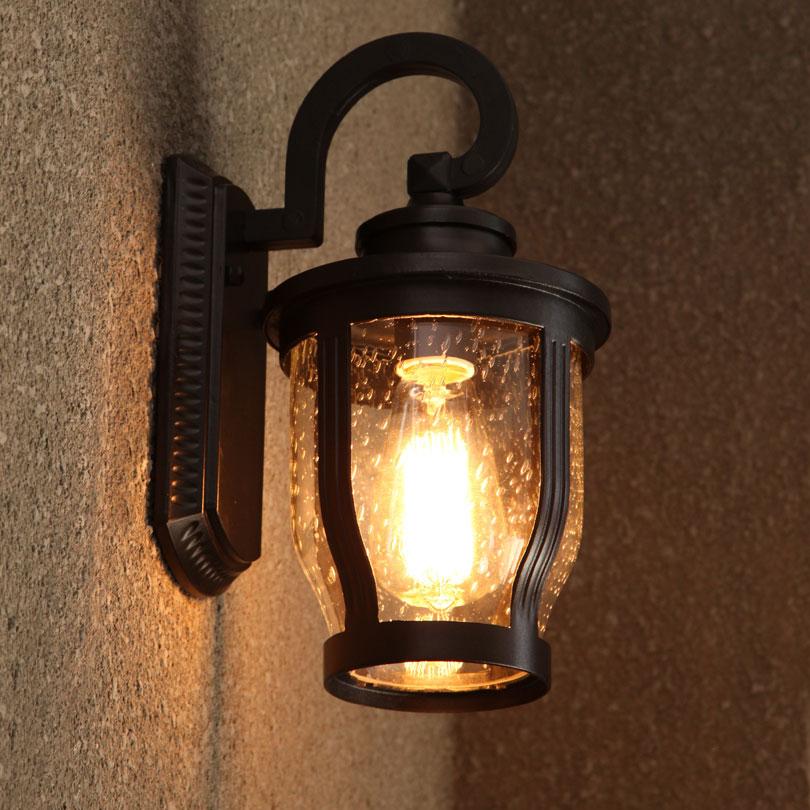 欧式户外防雨壁灯