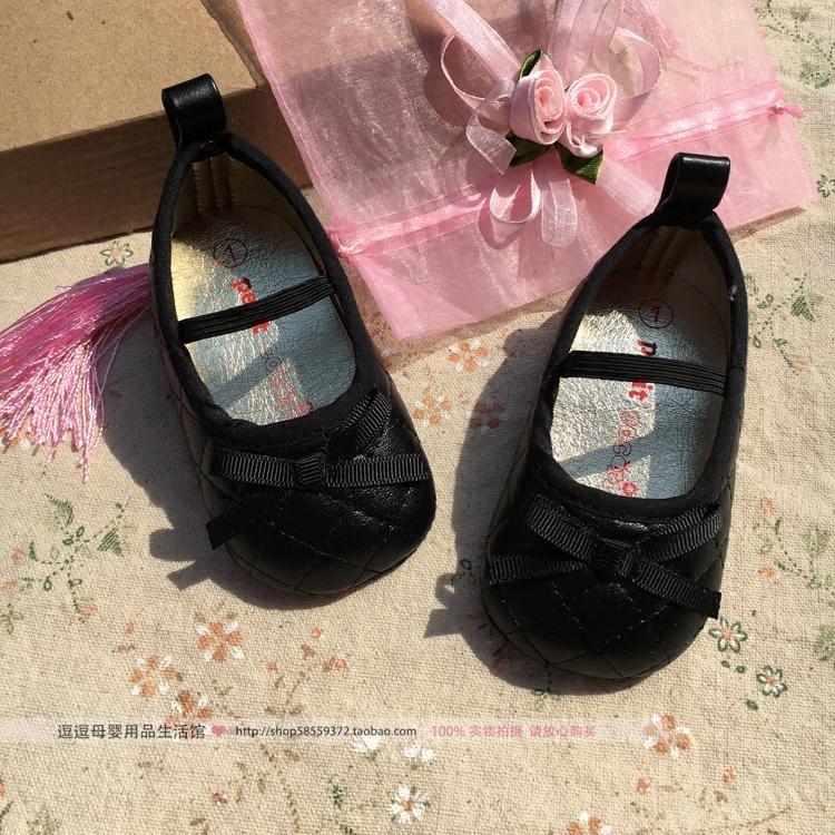 黑色公主宝宝鞋