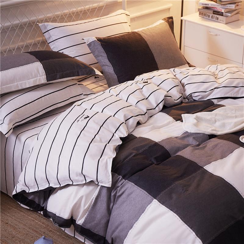 大学生宿舍床单3件套全棉