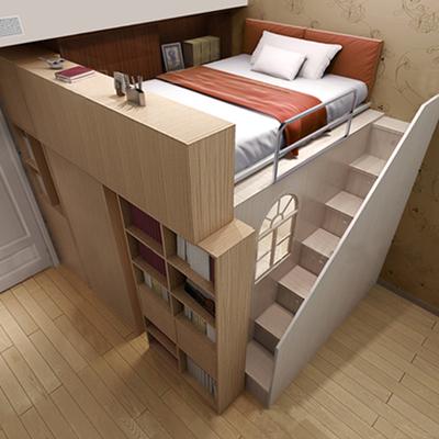 北岸定制儿童子母床双层床高低床上下床组合男女孩城堡床