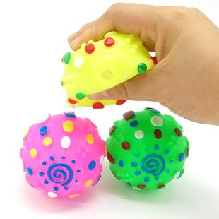雷球狗狗发声玩具 猫狗玩具 耐咬减压 淘宝 宠物经典搪胶玩具