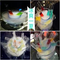 Qingdao, Shandong restaurant hotel KTV bar edible dry ice wedding celebration stage smoke particles dry ice