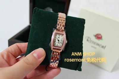 瑞士rosemont罗斯蒙特女士手表RS#3-02玫瑰金镶钻年中大促