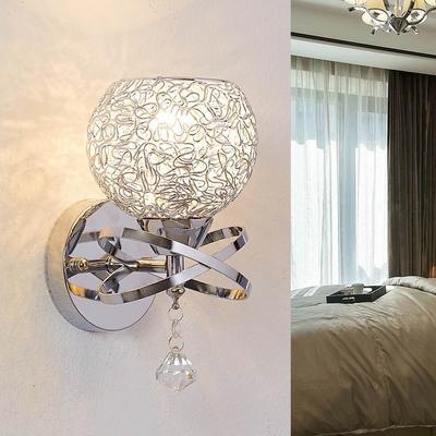 壁灯床头圆形壁灯