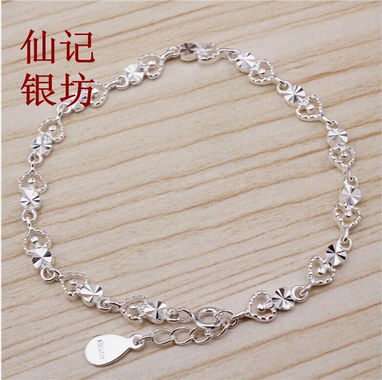 990纯银手链送女韩版