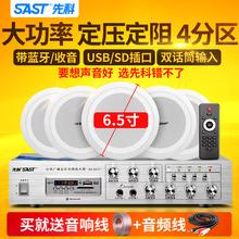 SAST/先科 SA-01吸顶喇叭 套装 天花吊顶音响 定压功放背景音乐