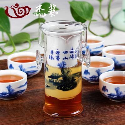 陶瓷玻璃过滤泡茶壶