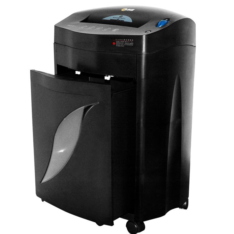 科密黑金刚+碎纸机 大功率大容量连续碎纸60分钟电动粉碎机碎纸机