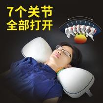 枕头可以拆洗枕套美容四件套配件美容枕芯揉按床小枕头