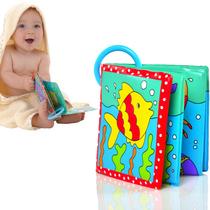 瑕疵 英国品牌婴幼儿洗澡戏水PVC书 有BB叫可喷水 宝宝洗澡书