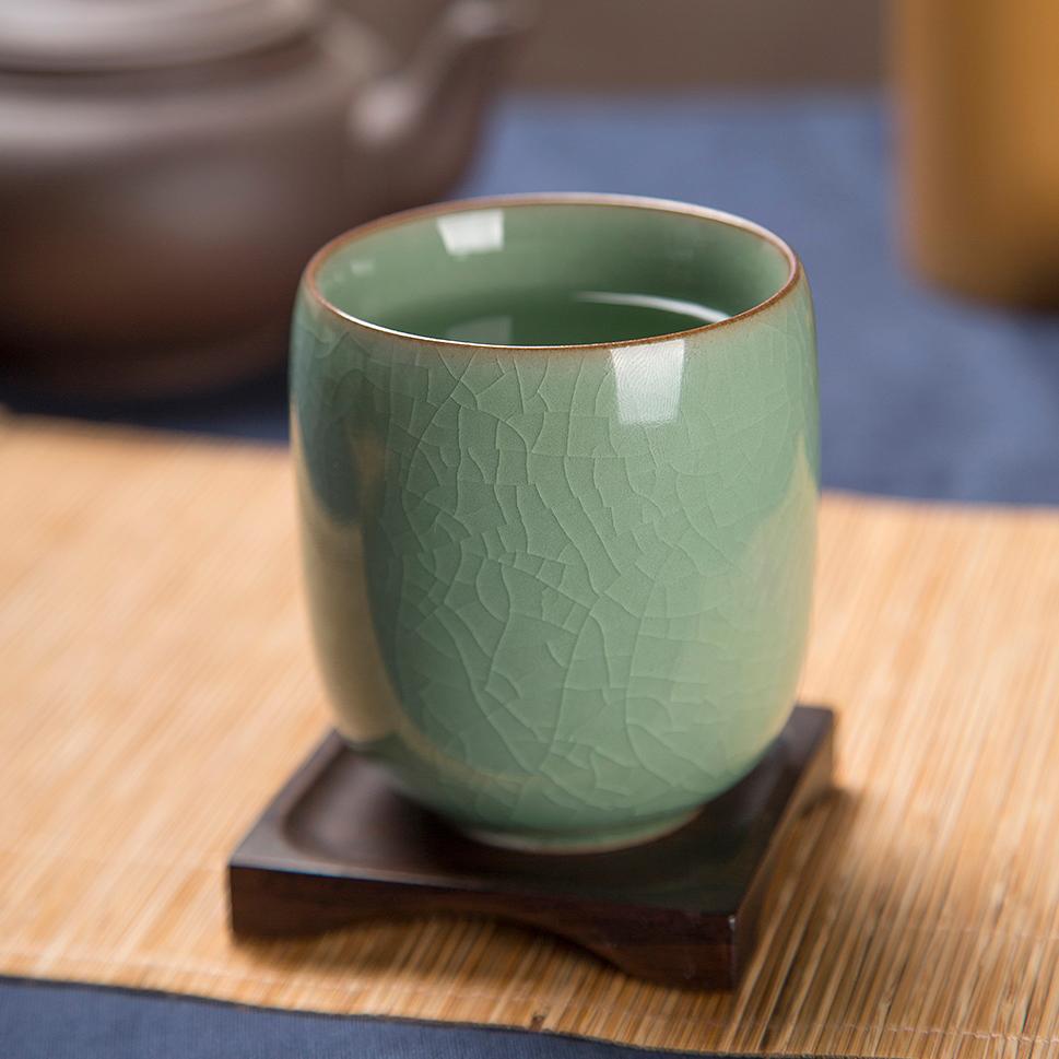 创意陶瓷玻璃茶杯