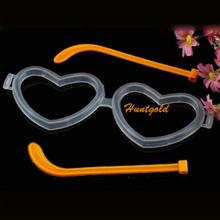 Glasses Frame Accessories Glow Stick Love Shape Heart Led