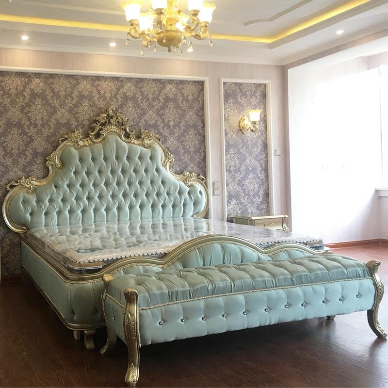 新古典床现货