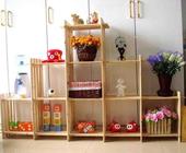 5省包邮9格架木质货架 收纳架层架置物架桌上书架