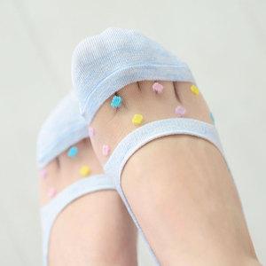 袜子女薄款全隐形袜短袜浅口船袜玻璃丝袜女硅胶防滑网红款ins潮