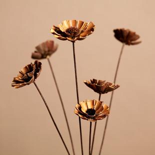 天然干花花卉太阳花 田园假花仿真花束欧式客厅室内装饰花艺假花