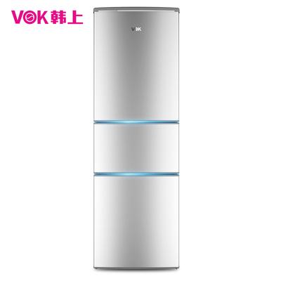 韩上 BCD-185M 正品家用节能小型三开门冰箱三门式电冰箱全国联保