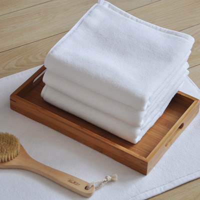 孚日洁玉纯棉地毯门厅脚垫美容院酒店卫生间白地垫吸水浴室防滑垫