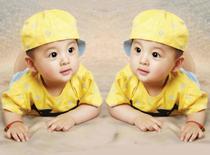 可爱宝宝海报孕妇备孕漂亮宝宝画图片婴儿海报大胎教照片墙贴包邮
