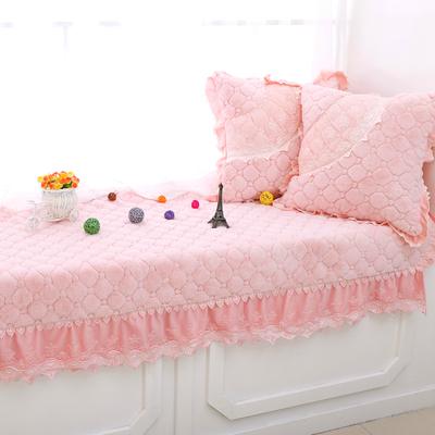 舒适毛绒飘窗垫布艺加厚防滑窗台垫阳台毯坐垫子欧式订定做秋冬季