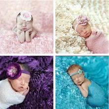 满月照百天照 玫瑰毯 影楼摄影道具 婴儿拍照 宝宝百日照摄影