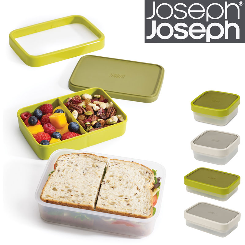 Joseph随身可收缩分格午餐盒 盒盖两用密封硅胶 微波炉饭盒便当盒5元优惠券