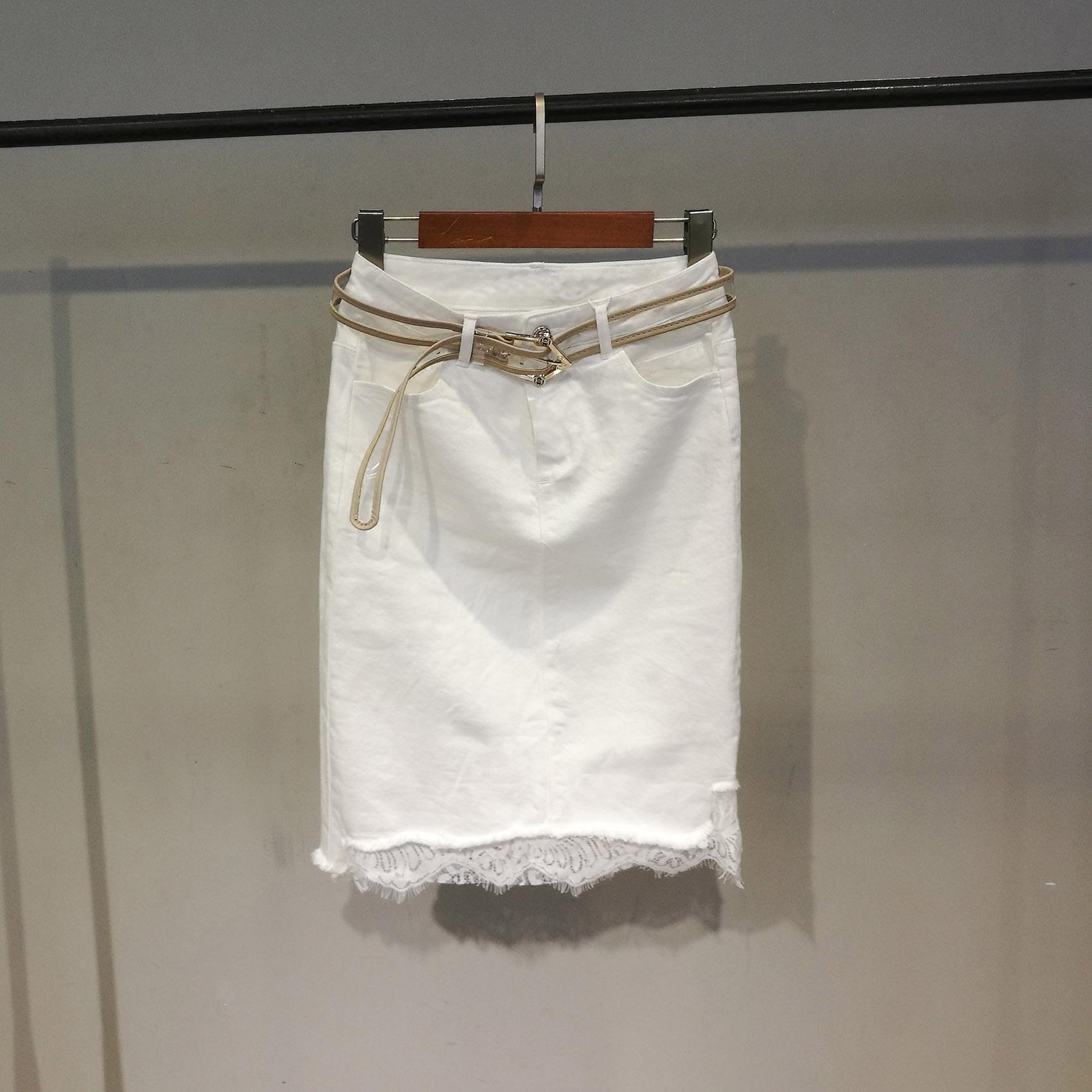 雷丝半身裙