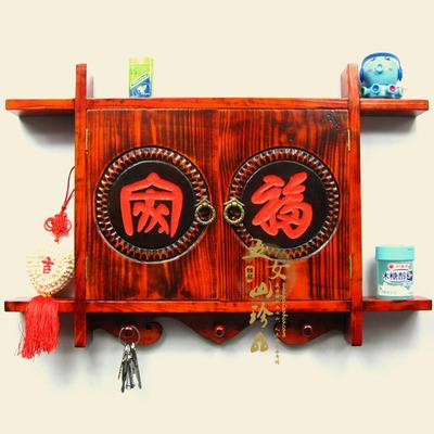中式家福实木雕壁饰电表箱空开箱装饰画电闸配电箱遮挡箱壁挂画盒品牌巨惠
