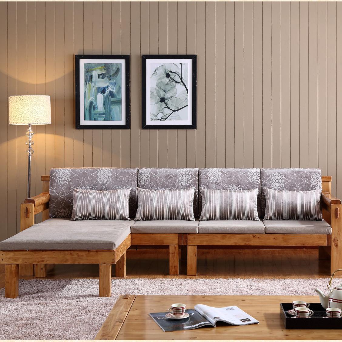 全实木沙发成人