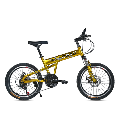 20寸儿童自行车双碟刹