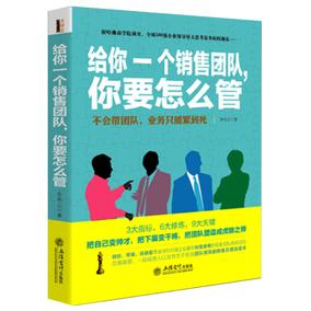 正版包邮给你一个销售团队你要怎么管成功励志畅销书企业管理类书籍团队经营打造建设创业心理学员工培训基础团队管理行为手册营销