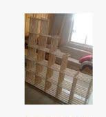 包邮16格子架 书架 货架 置物架 杂物架层架陈列架鞋架儿童书架